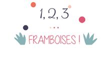 1,2,3… FRAMBOISES ! Logo